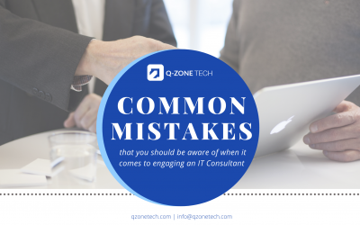 Top 7 Mistakes When Engaging An IT Consultant