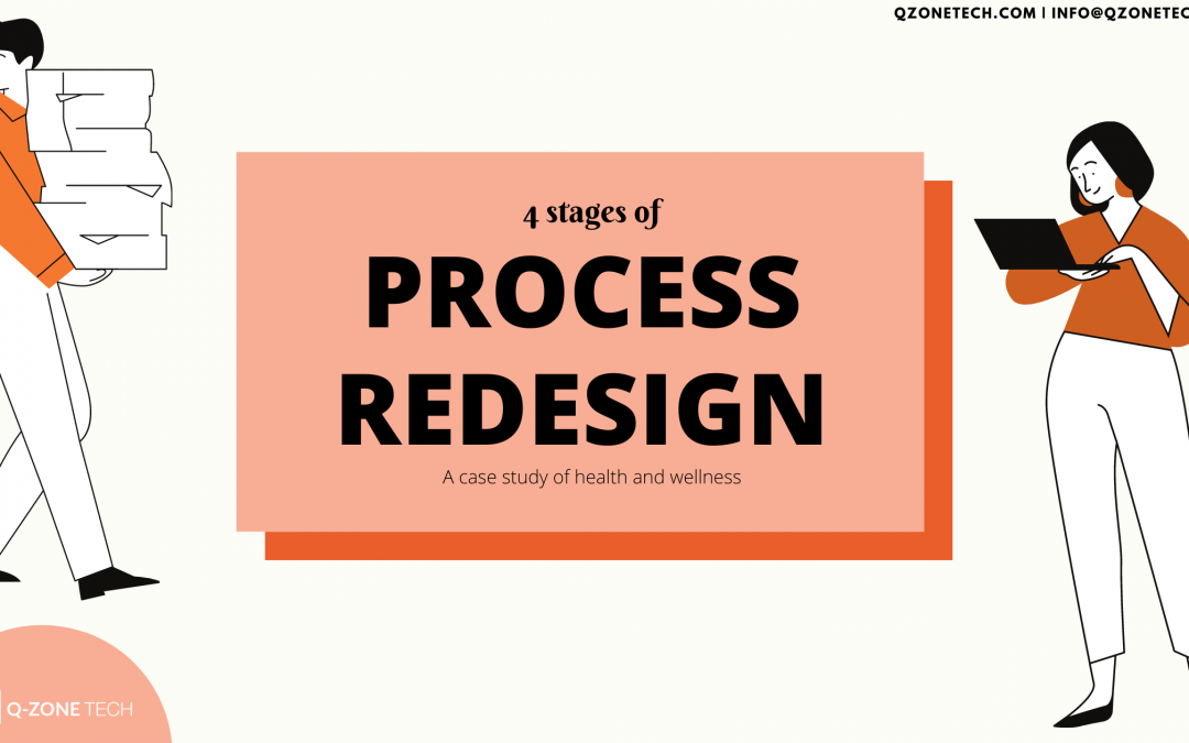 Process Redesign — A Case Study Of Health And Wellness